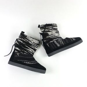 Toms Black Suede Nepal Boot H6614873